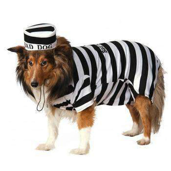 Prison Dog Halloween Costume Pet Clothes Rubie's Costumes
