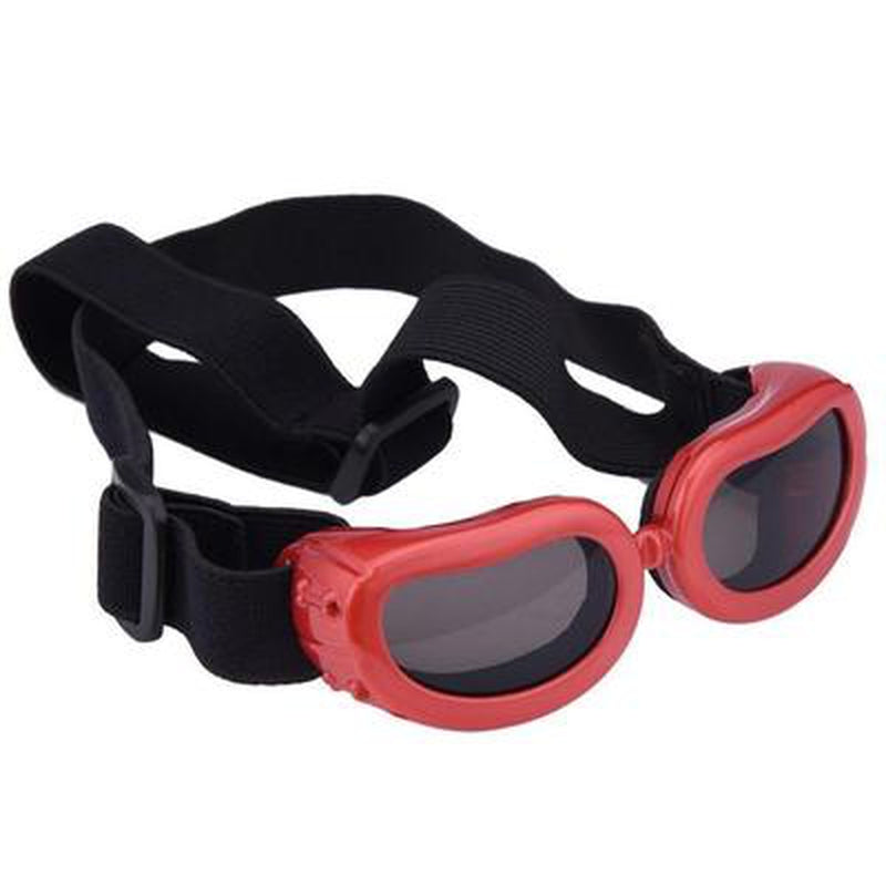UV Dog Sunglasses Pet Accessories Oberlo Red