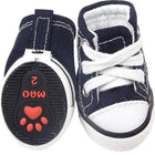 Converse Dog Shoes - Blue Denim, Pet Clothes, Furbabeez, [tag]