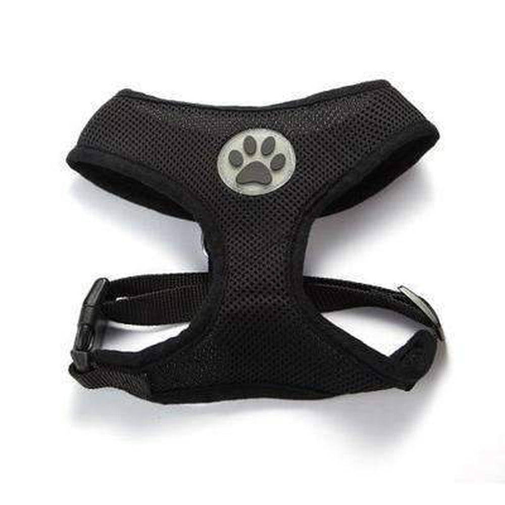 Soft Dog Harness Vest Collars and Leads Oberlo Black XS
