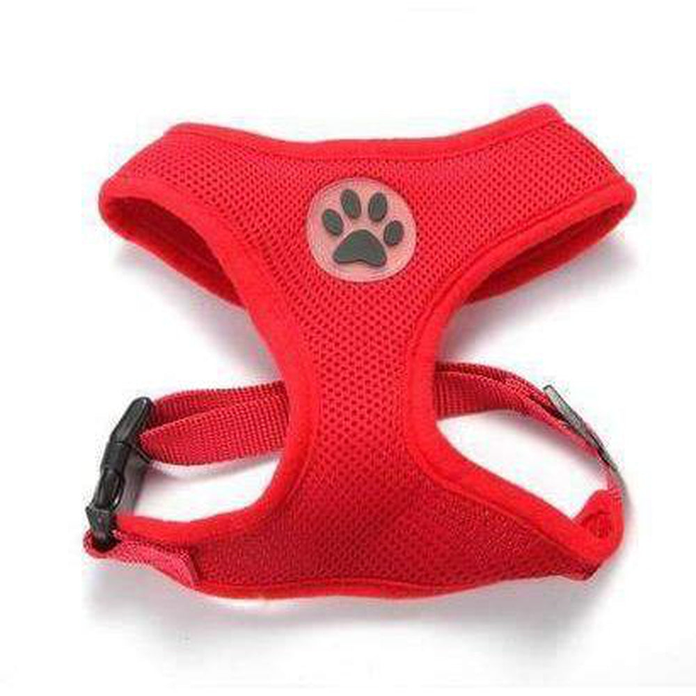 Soft Dog Harness Vest Collars and Leads Oberlo Red XS