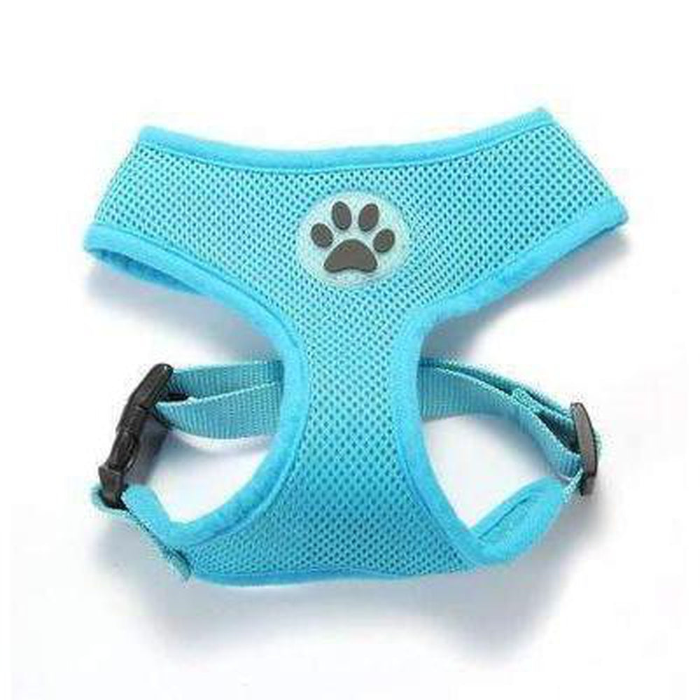 Soft Dog Harness Vest Collars and Leads Oberlo Blue XS