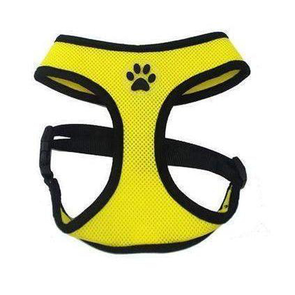Soft Dog Harness Vest Collars and Leads Oberlo Yellow XS