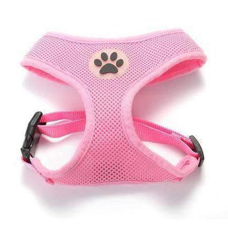Soft Dog Harness Vest Collars and Leads Oberlo Pink XS