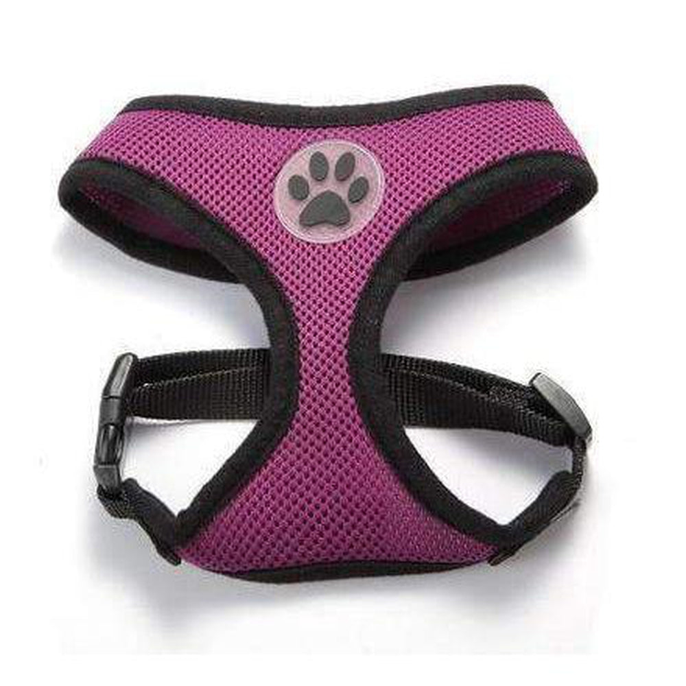 Soft Dog Harness Vest Collars and Leads Oberlo Purple XS