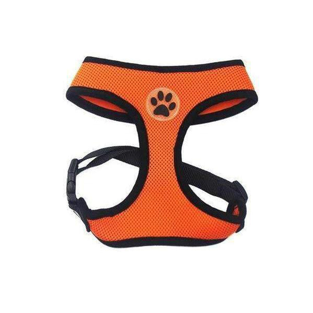 Soft Dog Harness Vest Collars and Leads Oberlo orange XS