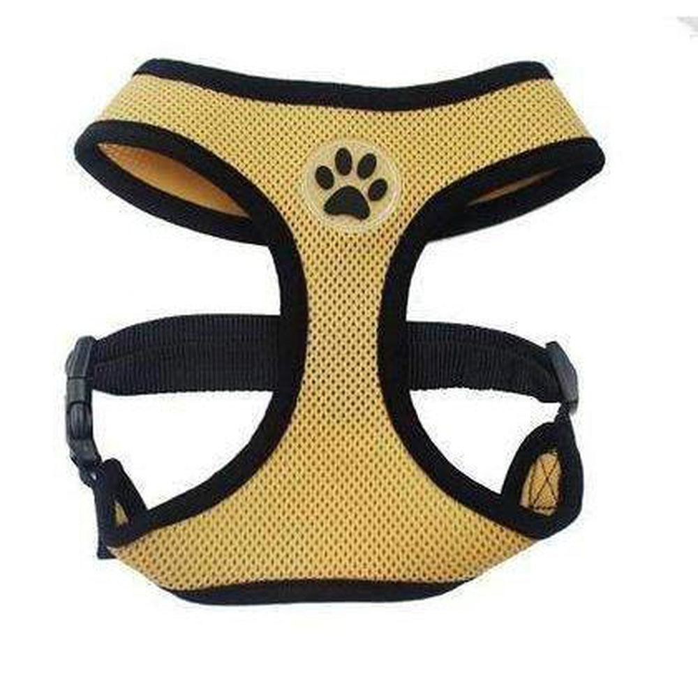 Soft Dog Harness Vest Collars and Leads Oberlo brown XS