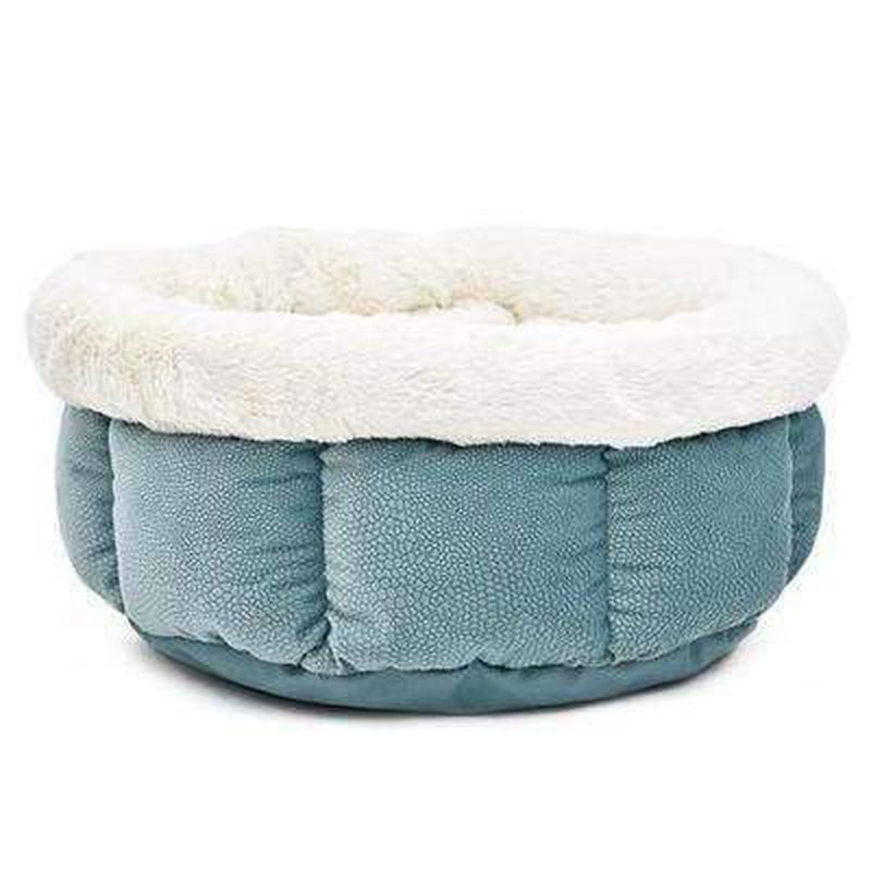 Soft Snuggle Dog Bed Pet Bed Oberlo Turquoise