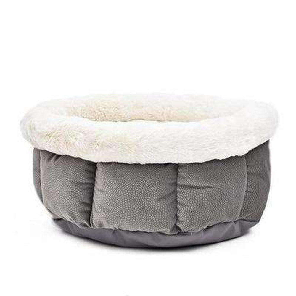 Soft Snuggle Dog Bed Pet Bed Oberlo Gray