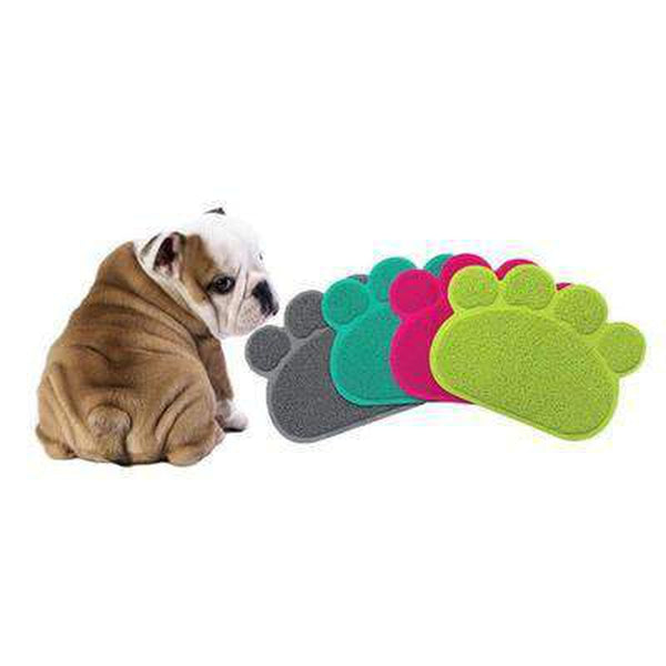 Cute Paw Feeding Mat, Pet Bowls, Furbabeez, [tag]