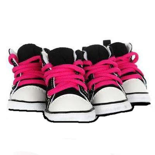 Converse Dog Hightop Sneakers - Black, Pet Clothes, Furbabeez, [tag]