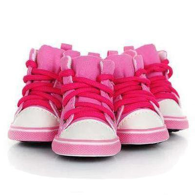 Converse Dog Hightop Sneakers - Pink, Pet Clothes, Furbabeez, [tag]