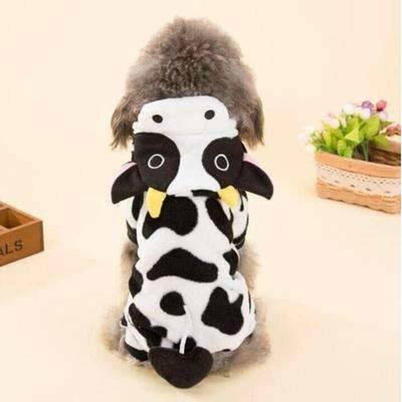 Cow Halloween Dog Costume, Pet Clothes, Furbabeez, [tag]