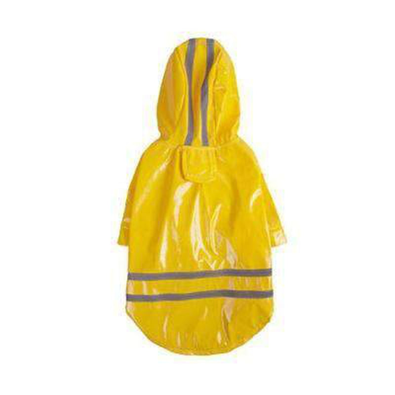 Hoody Waterproof  PU Raincoat, Pet Clothes, Furbabeez, [tag]