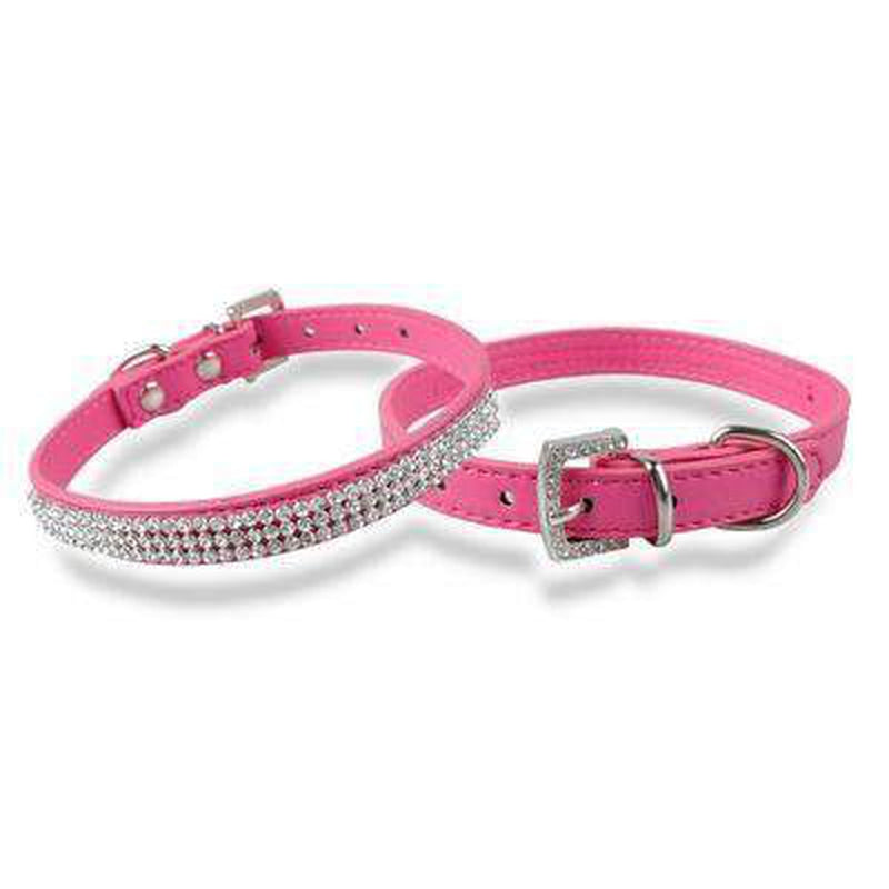 Rhinestone Pet Collar Collars and Leads Oberlo