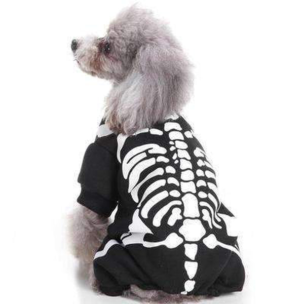 Skeleton Bones Dog Costume, Pet Clothes, Furbabeez, [tag]