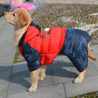 Large Dog Winter Waterproof Hoodie Snowsuit, Pet Clothes, Furbabeez, [tag]
