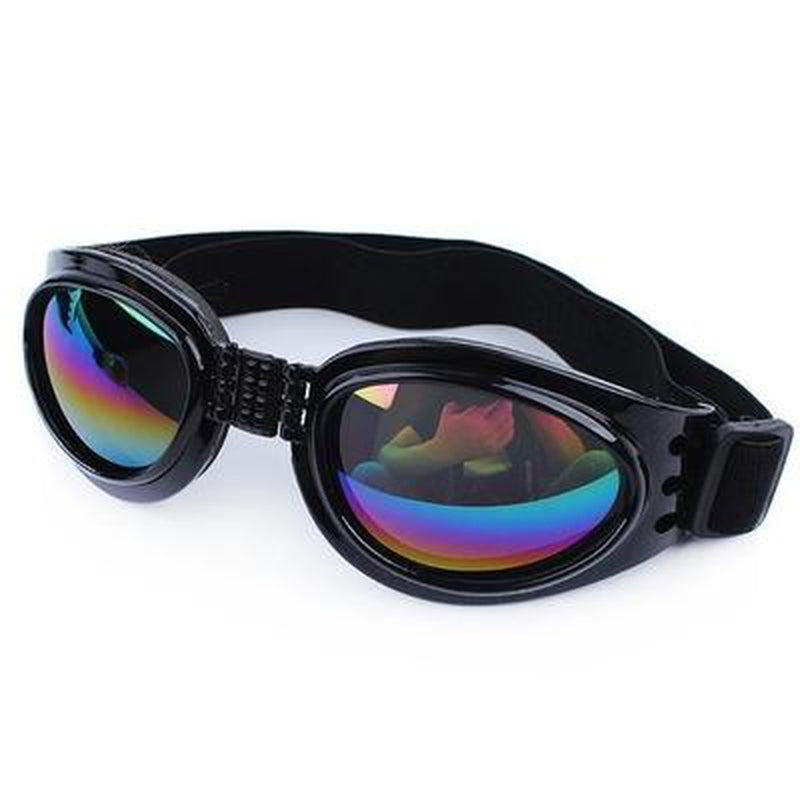 UV Protection Doggles Pet Accessories Oberlo US Black