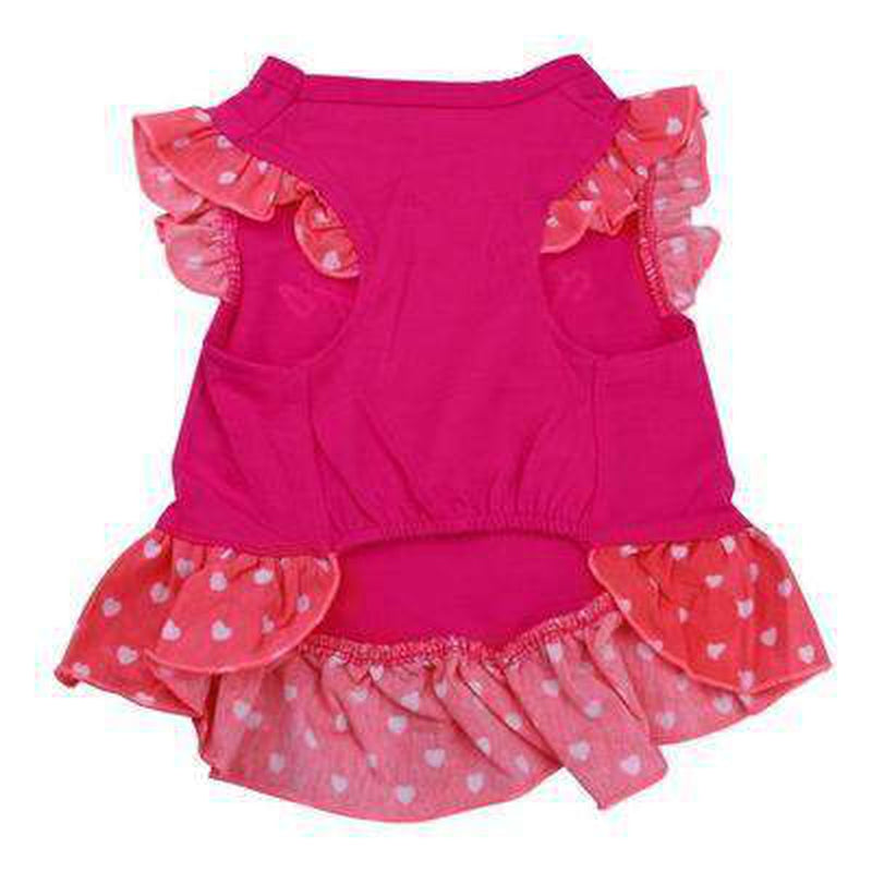 Girl Dog Dress - Polka Dot Skirt, Pet Clothes, Furbabeez, [tag]