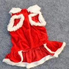 Traditional Mrs. Claus Dog Dress Pet Clothes Oberlo