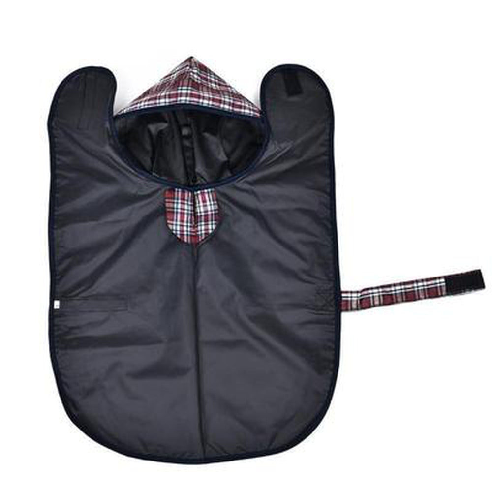Plaid Dog Raincoat Pet Clothes Oberlo