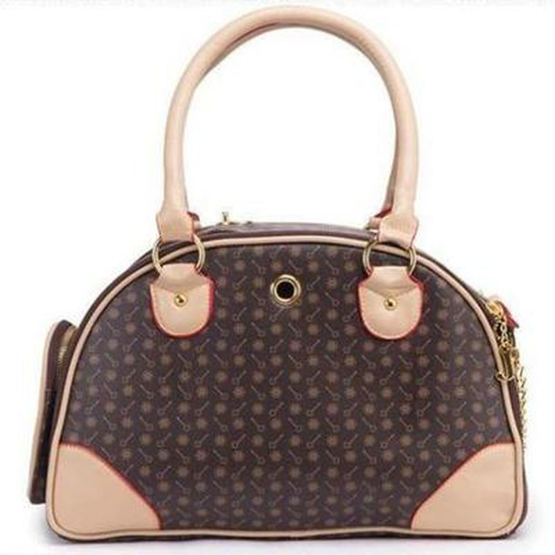 Chewy Vuitton Look Dog Carry Bag, Pet Accessories, Furbabeez, [tag]