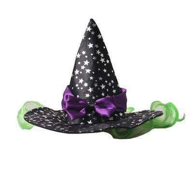 Star Witch Dog Hat, Pet Clothes, Furbabeez, [tag]