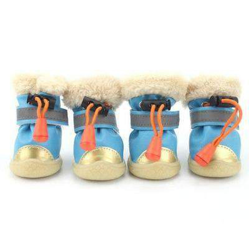 Waterproof Metallic Ugg Boots Pet Clothes Oberlo Gray L