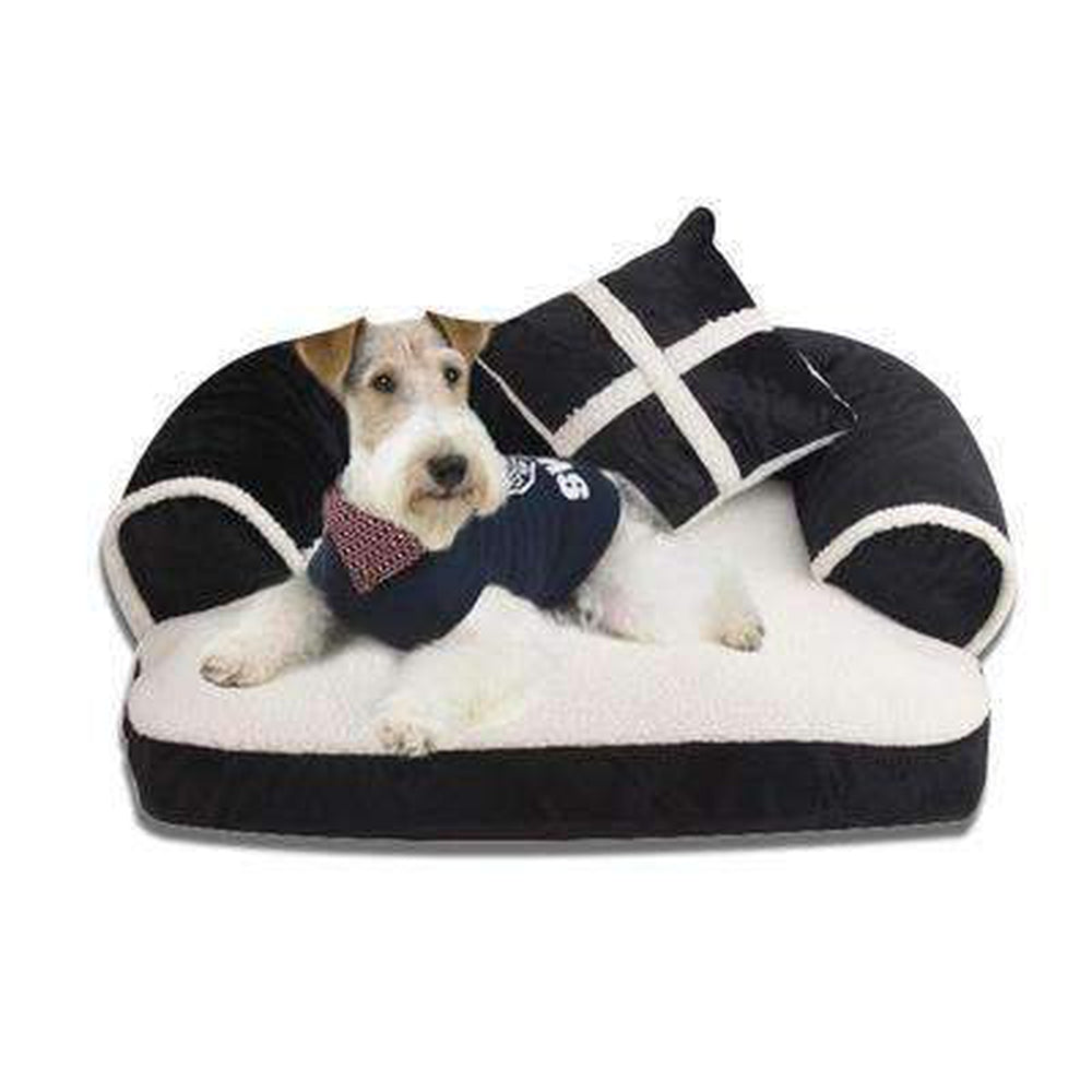 Snooze Dog Bed - Black, Red, Brown Pet Bed Oberlo