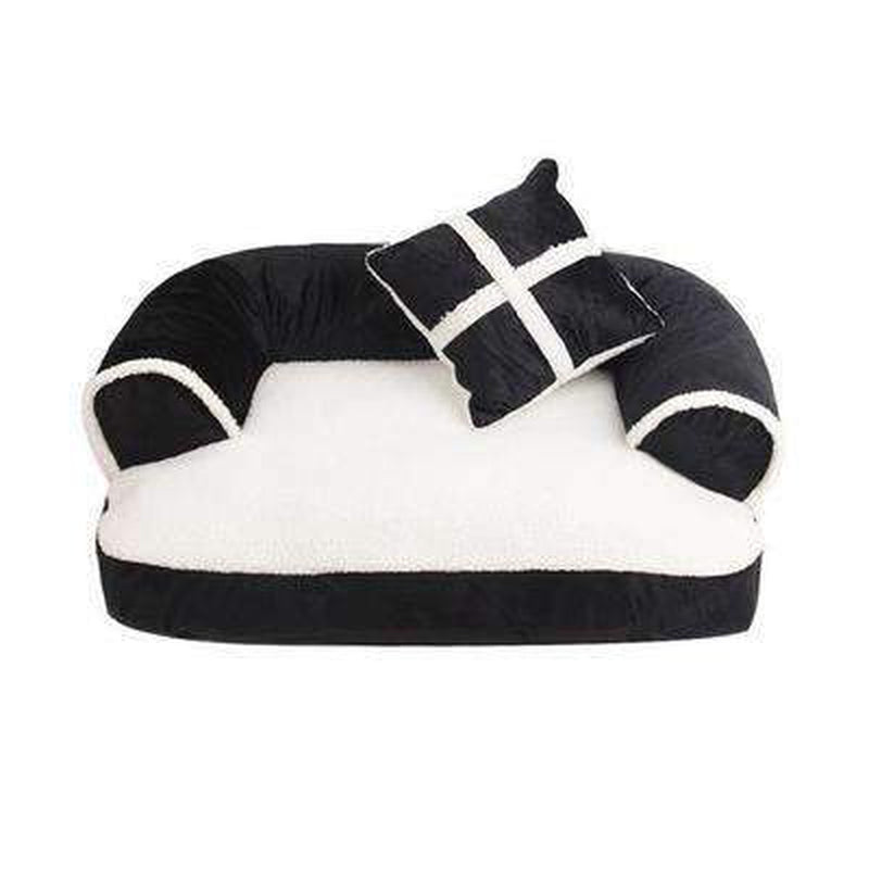 Snooze Dog Bed - Black, Red, Brown Pet Bed Oberlo Black S