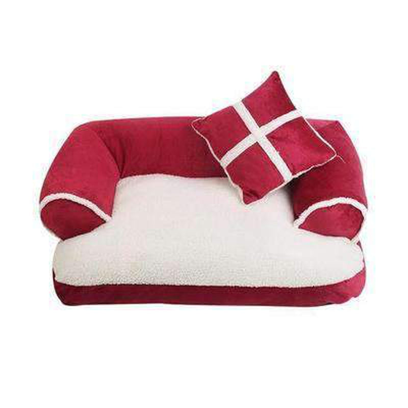 Snooze Dog Bed - Black, Red, Brown Pet Bed Oberlo Red S