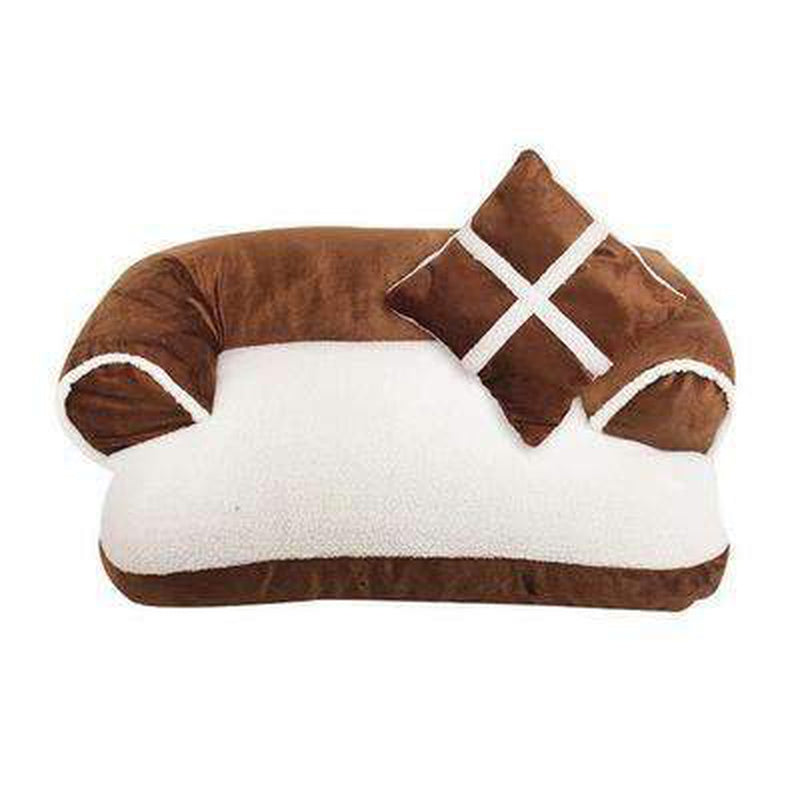 Snooze Dog Bed - Black, Red, Brown Pet Bed Oberlo Bronze S