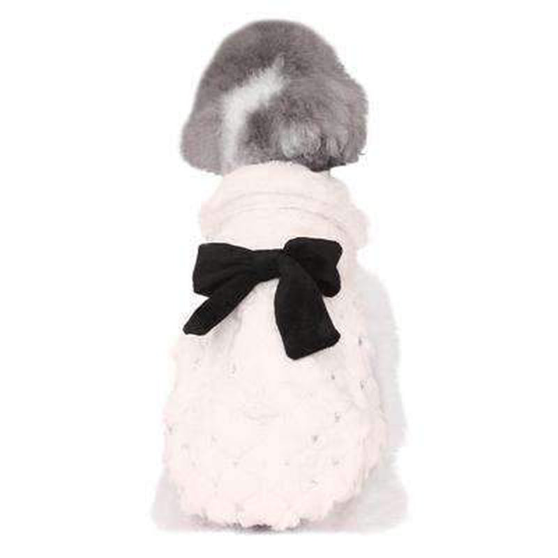 Elegant Luxury Fur Winter Overcoat, Pet Clothes, Furbabeez, [tag]