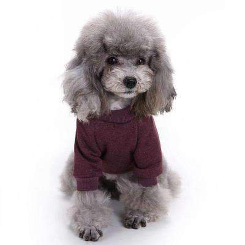 Knit Look Dog Sweater, Pet Clothes, Furbabeez, [tag]