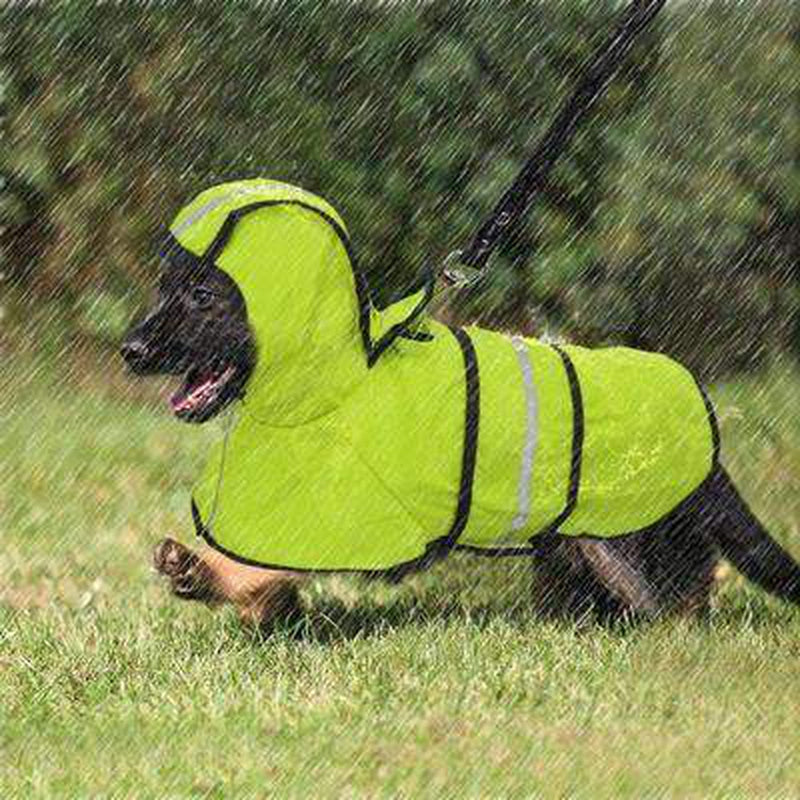 Reflective Dog Rain Jacket Pet Clothes Oberlo
