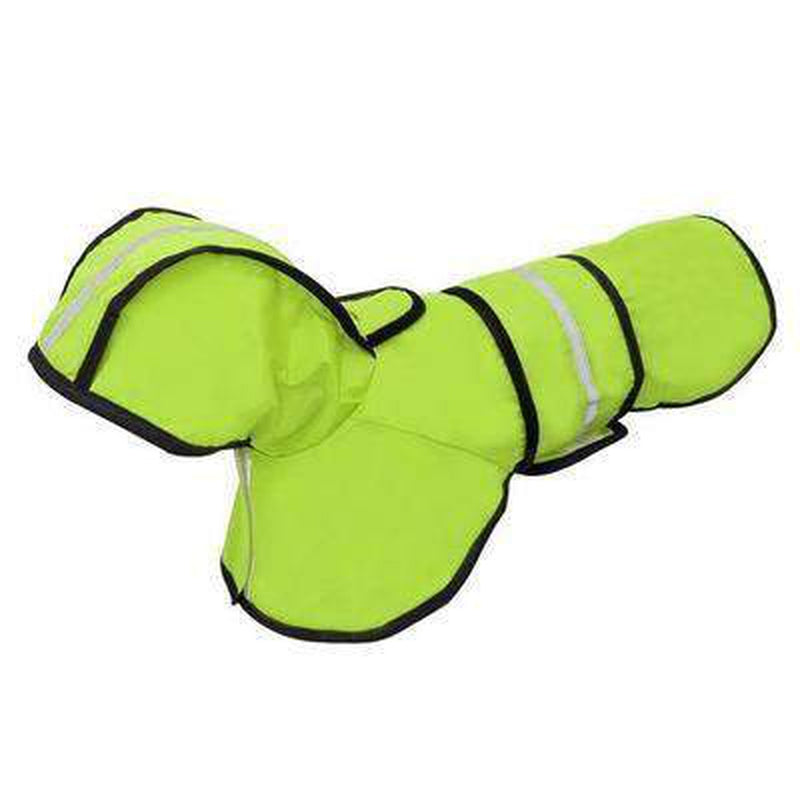 Reflective Dog Rain Jacket Pet Clothes Oberlo Green L