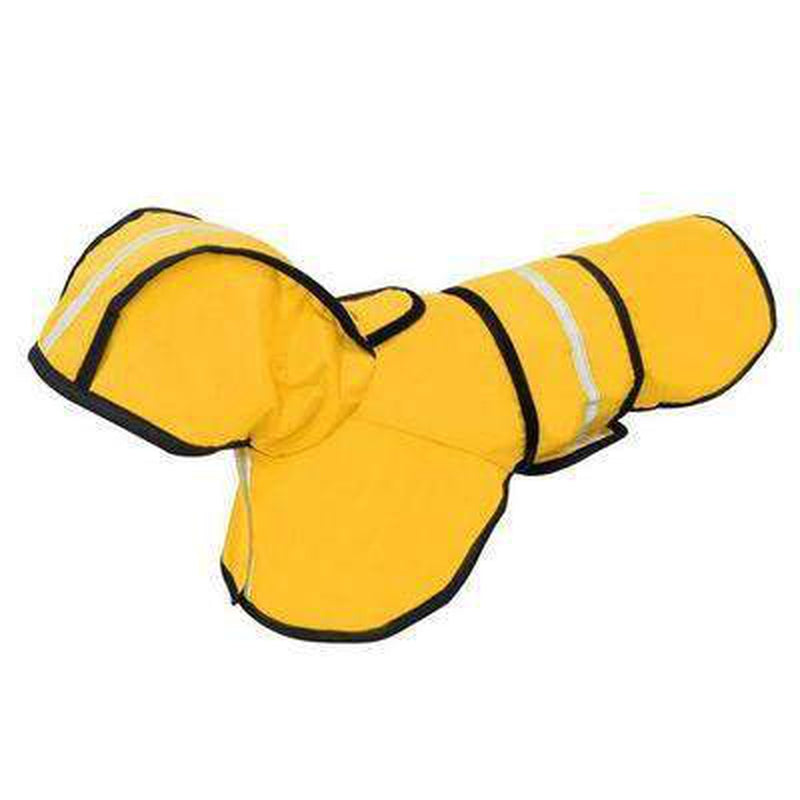 Reflective Dog Rain Jacket Pet Clothes Oberlo YELLOW L