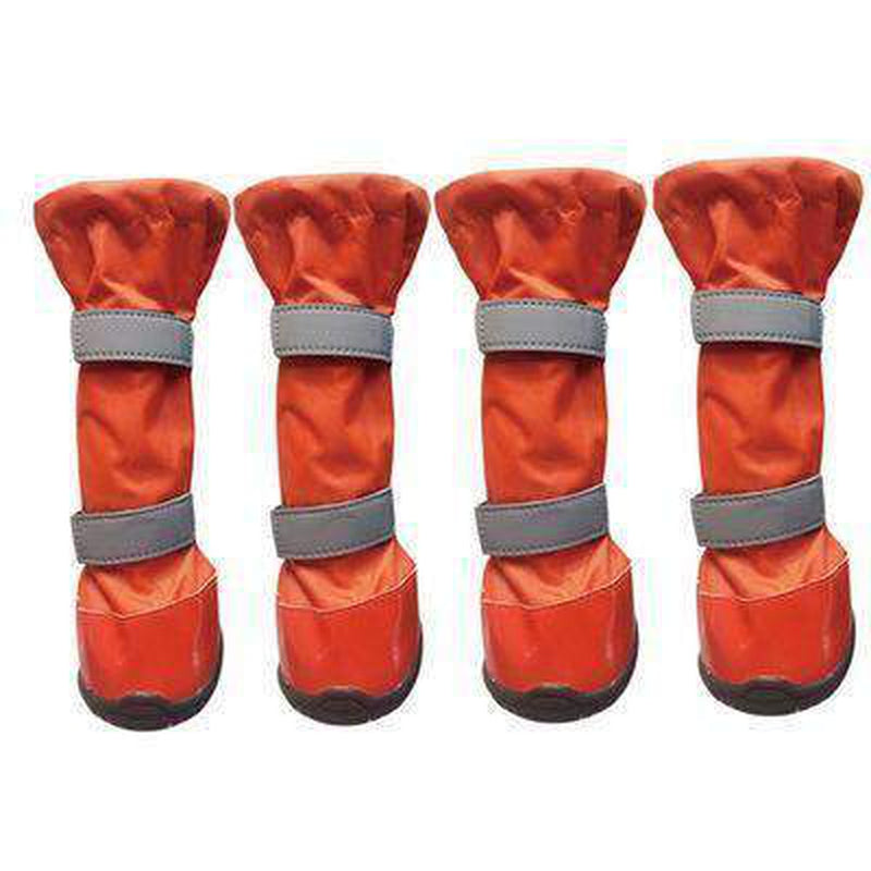 Waterproof Warm Big Dog Shoes Pet Clothes Oberlo orange Size 1