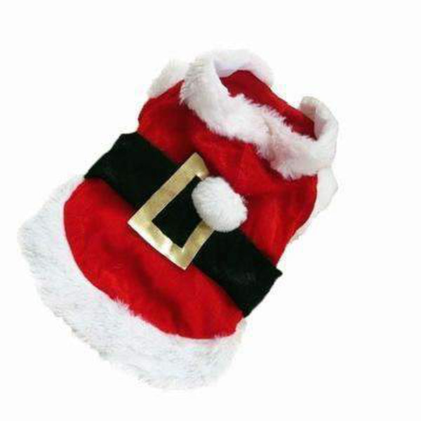 Dog Santa Jacket, Pet Clothes, Furbabeez, [tag]