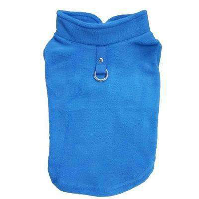 Winter Fleece Vest with D-Link Pet Clothes Oberlo Navy L