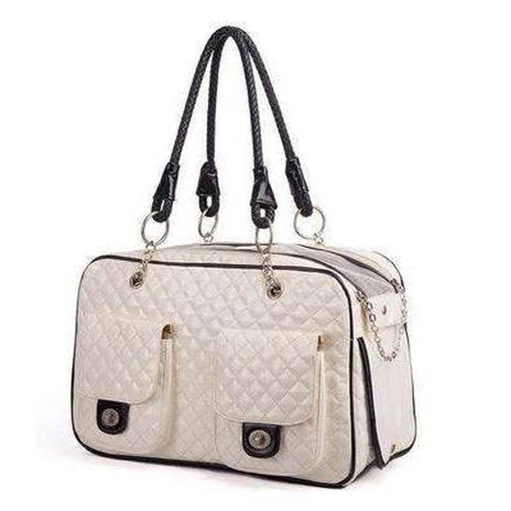 London Quilted Dog Carrier, Pet Accessories, Furbabeez, [tag]