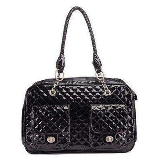 London Quilted Dog Carrier Pet Accessories Oberlo Black