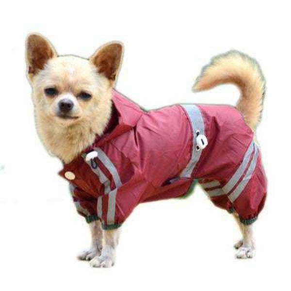 Reflective Single Layer Rain Slicker Suit Pet Clothes Oberlo