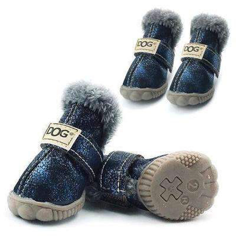 Waterproof Dog Ugg Boots - New Colors Pet Clothes Oberlo Navy 1