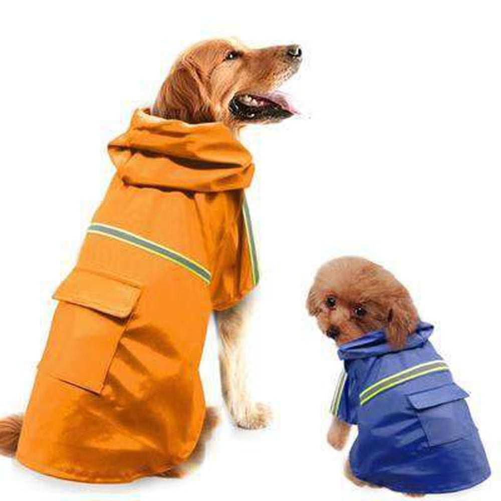 Waterproof Dog Coat Jacket with Reflective Strip Pet Clothes Oberlo