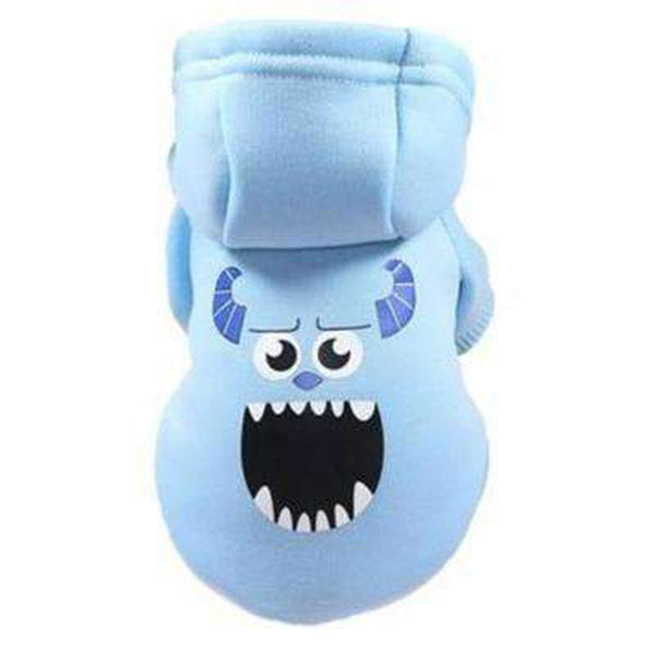 Monsters Inc Dog Hoodie Pet Clothes Oberlo