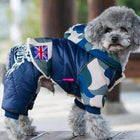 Waterproof Puffy Snowsuit Pet Clothes Oberlo Navy S