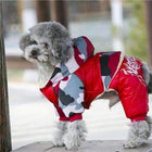 Waterproof Puffy Snowsuit Pet Clothes Oberlo Red S