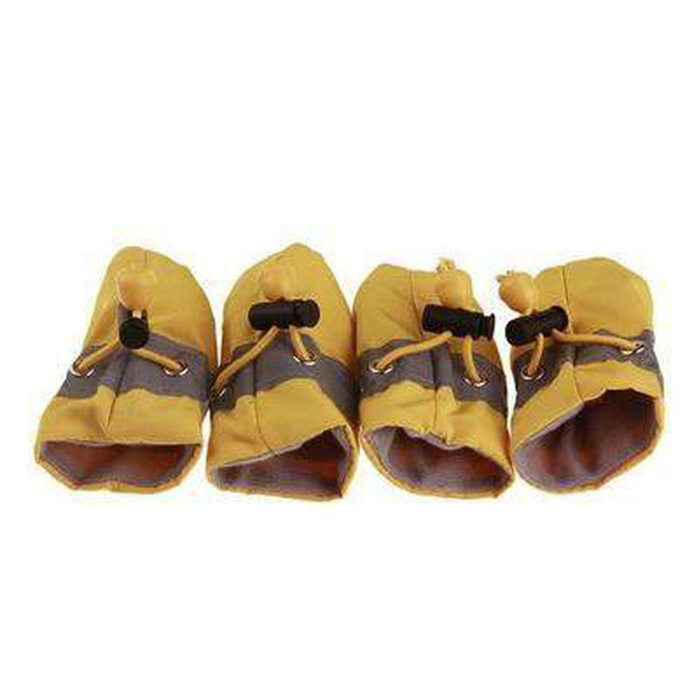Waterproof Dog Snow Booties Pet Clothes Oberlo Yellow Small