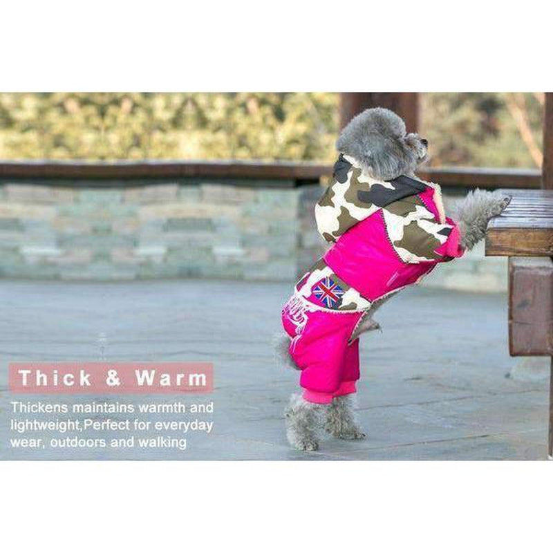 Waterproof Puffy Snowsuit Pet Clothes Oberlo